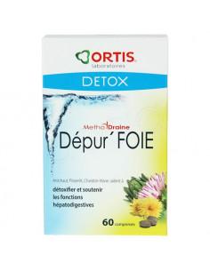 Ortis Dépur'Foie MethoDraine. 60 comprimés