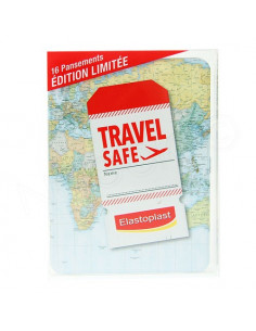 Travel safe elastoplast 16 pansements édition limitée