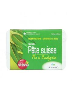 Pâte Suisse Respiration Pin & Eucalyptus. Pastilles à sucer