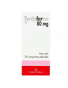 Tardyferon 80mg 30 comprimés