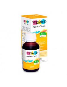 Pediakid Appétit-Tonus stimule l'appétit réduit la fatigue goût framboise. 125ml -