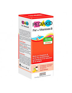 Pediakid Sirop Fer + Vitamines B. 125ml