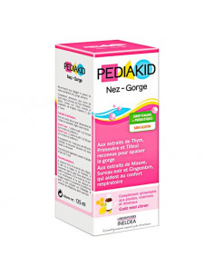 Pediakid Sirop Nez - Gorge. 125ml confort respiratoire & gorge