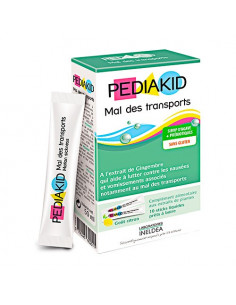 Pediakid Mal des Transports. 10 sticks - nausées & confort digestif