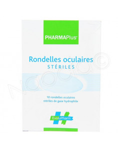 PharmaPlus Rondelles Oculaires Stériles. x10