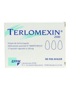 Terlomexin 200mg 3 capsules molles vaginales