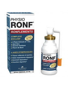 PhysioRonf Ronflements Spray Buccal. 20ml