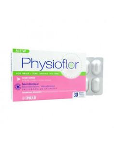 Physioflor Oral Flore Intime probiotique rééquilibre de la flore. 30 gélules -