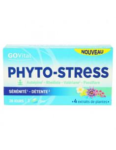GoVital Phyto-Stress Sérénité Détente Sans Accoutumance. 28 gélules