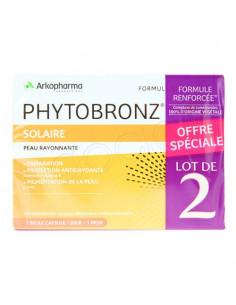 Arkopharma Phytobronz Nouvelle Formule. Lot 2x30 capsules