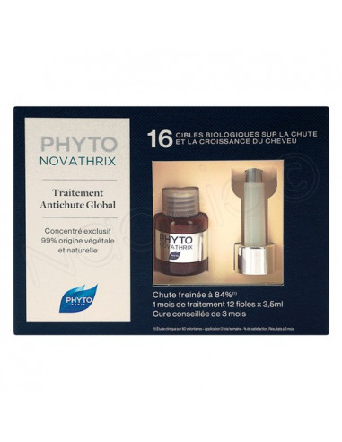 Phyto Novathrix Traitement Anti-chute Global. 12x35ml - Cure 1 mois