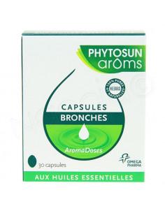Phytosun Aroms Capsules Bronches. 30 capsules