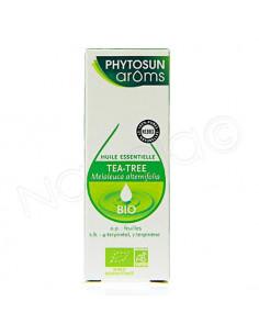 Phytosun arôms Huile Essentielle Tea-Tree Bio. 10ml - pure et naturelle/HEBBD