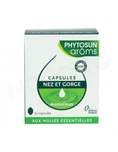 Phytosun Aroms Capsules Nez et Gorge. 30 capsules