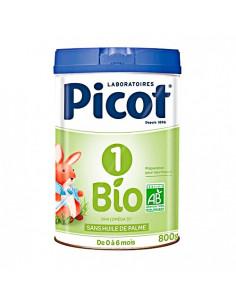 Picot 1 Bio Préparation en poudre 0-6 Mois. 800g : riche en Oméga 3