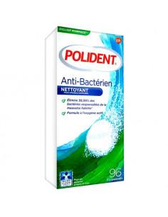 Polident Anti-Bactérien Nettoyant Appareils et Prothèses. 96 comprimés - soin des prothèses