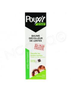 Pouxit Décolleur de Lentes Baume après-traitement 100g + peigne