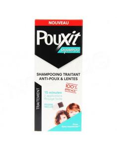Pouxit Shampoo Shampooing Traitant Anti-Poux et Lentes. 200ml + peigne