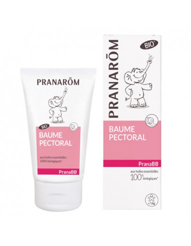 Pranarom Baume Pectoral PranaBB Bio. 40ml