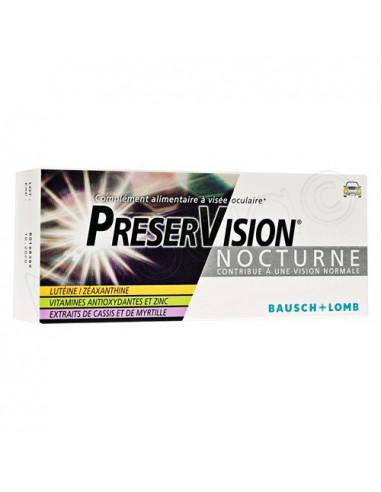 Preservision Nocturne Complément Alimentaire à Visée Oculaire. 30 comprimés
