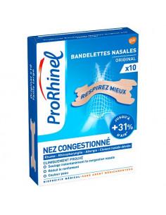 ProRhinel Bandelettes nasales Original. x30 - Couleur peau taille large