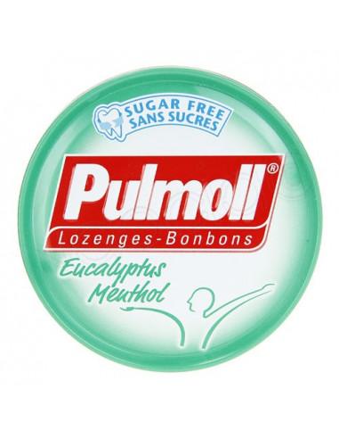Pulmoll Eucalyptus Menthol Bonbons. 45g