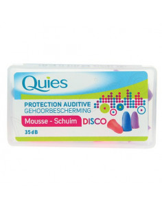 Quies Protection Auditive Mousse Disco. 3 paires