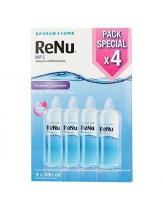 ReNu MPS Solution Multifonctions Formule Classique. Pack 4x360ml + 4 étuis