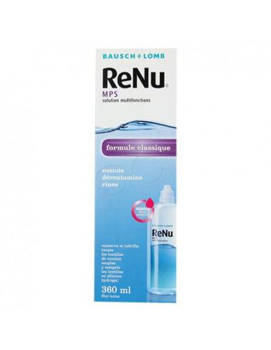 ReNu MPS Solution multifonctions lentilles souples. Flacon de 360ml