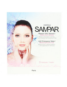 Sampar Masque Eau Secours Hydratant. x3 masques