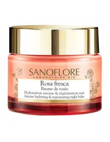 Sanoflore Rosa Fresca Baume de Rosée Nuit. 50ml