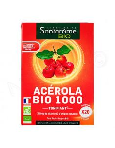 Santarome Acérola Bio 1000 Tonifiant vitamine C bio et naturelle