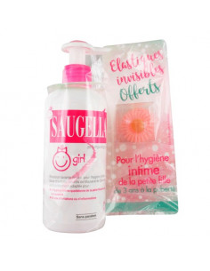 Saugella Girl Emulsion Lavante 200ml + 1 bracelet OFFERT