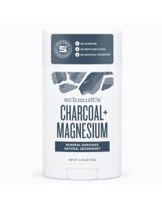 Schmidt's Charbon + Magnesium Déodorant Naturel. Stick 75g