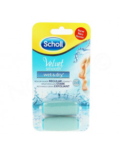 Scholl Velvet Smooth Wet & Dry x2 Recharges Grain Exfoliant