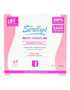 Sérélys gel vaginal sècheresse vaginale. 7 applicateurs monodose de 5ml