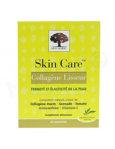 Skin Care Collagène Lisseur. 60 comprimés