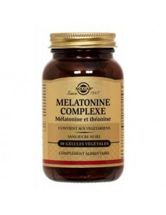 Solgar Mélatonine Complexe. 30 gélules végétales