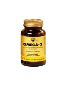 Solgar Omega-3 d'huile concentrée de poissons de mer froide gélules. 30 softgels -