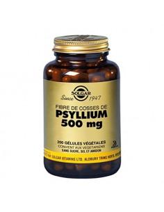 Solgar Psyllium 500mg. 200 gélules végétales