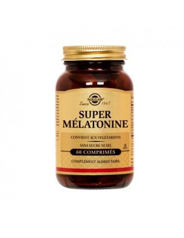 Solgar Super Mélatonine sans sucre ni sel. 60 comprimés