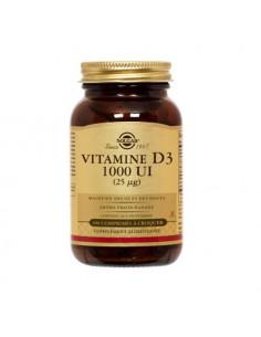 Solgar Vitamine D3 1000 UI (25µg). 100 comprimés à croquer