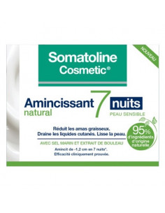 Somatoline Amincissant Natural 7 Nuits Peau Sensible. 400ml