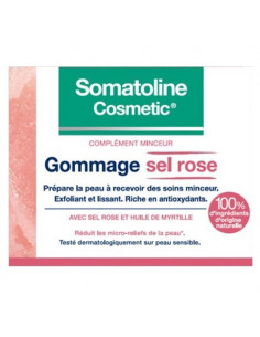 Somatoline Gommage Sel Rose Complément Minceur. 350g