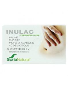 SoriaNatural Inulac. 30 comprimés à sucer