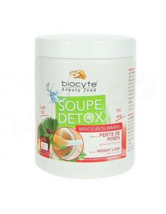 Biocyte Soupe détox Minceur Perte de poids goût thaï. 144g