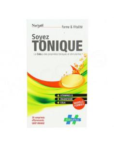 Soyez Tonique Forme et Vitalité Goût Orange. 30 comprimés effervescents