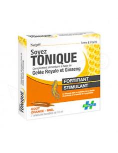 Nut'Exel Soyez Tonique Fortifiant Stimulant. 7 ampoules buvables de 10ml