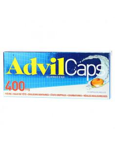AdvilCaps 400mg Ibuprofène 14 capsules molles