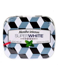 Superwhite Pastilles Mini Mints Blancheur Menthe intense. 50 pastilles